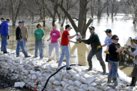 Flood Sandbagging