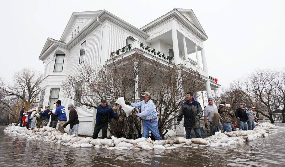 Moorehead, MN Flooding