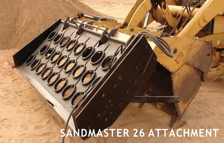 SandMaster 26 Attachment